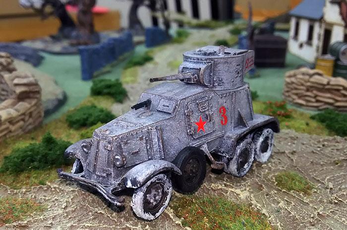 BA-6中装甲車