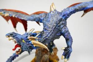 青いドラゴン