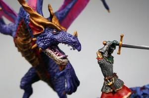 邪竜との戦い